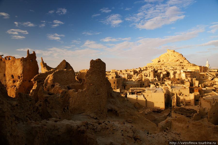 Древняя крепость Шали