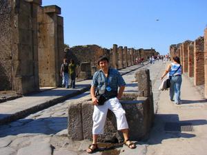 Главная улица Помпеи