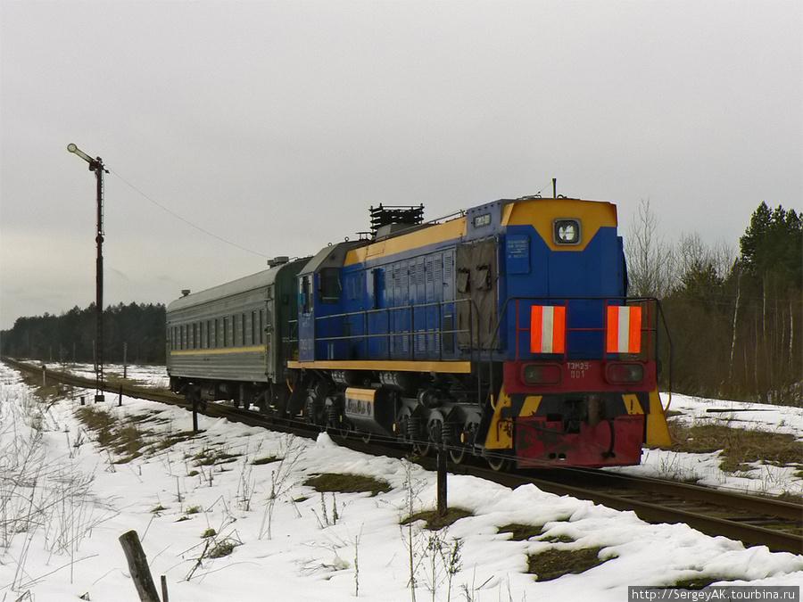 Поезд из Брянска