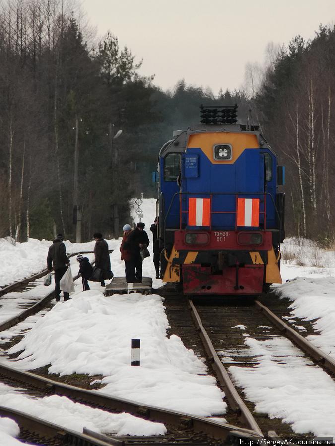 Конечная станция (высадка в Еленском)