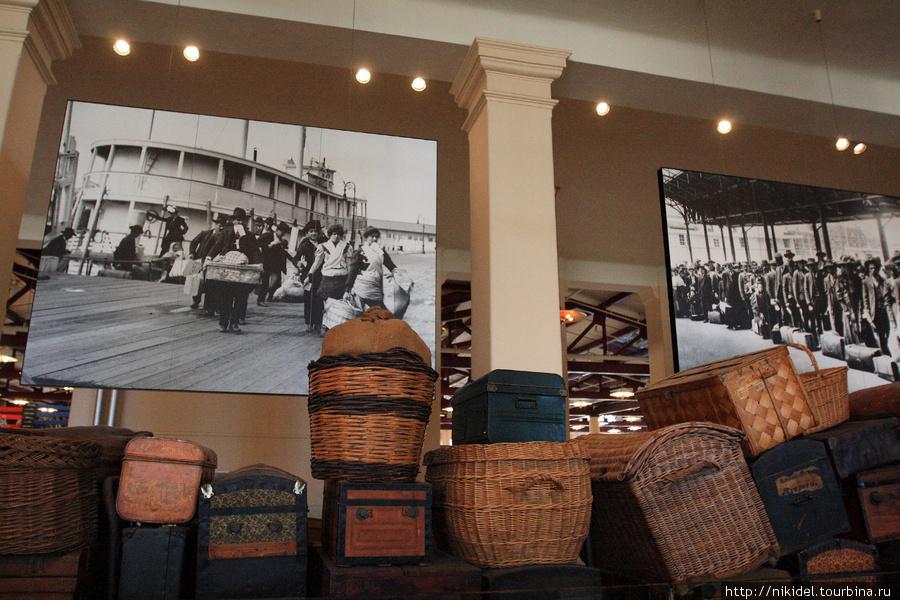 музей иммиграции на Eliss island