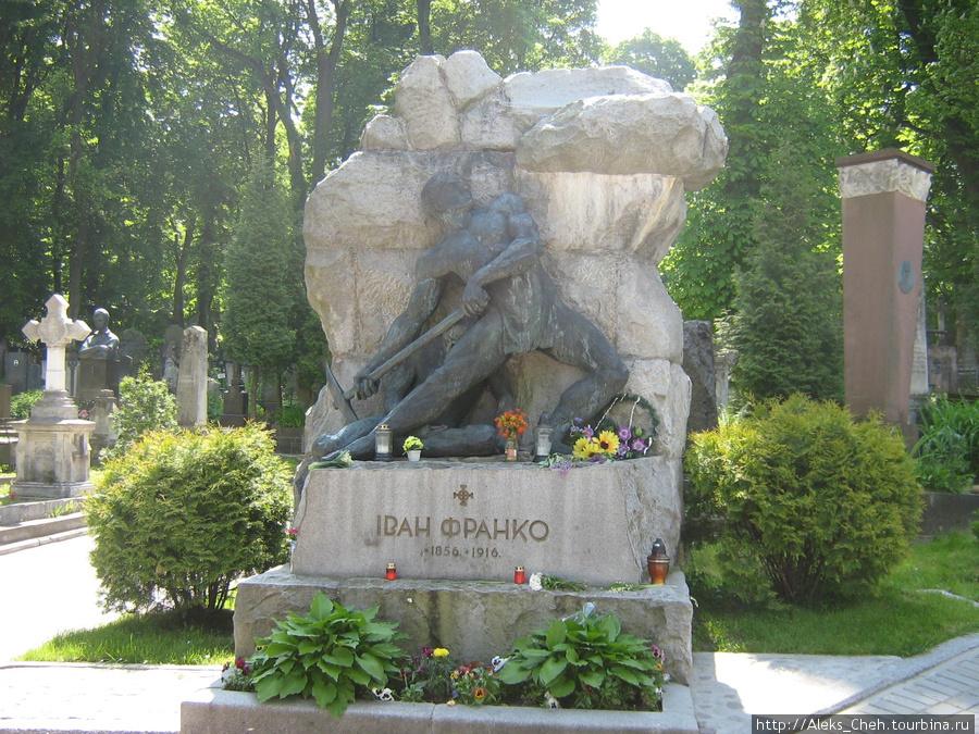 Могила Ивана Франко