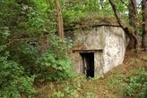 Руины форта в Городском парке Балтийска