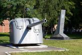 Корабельная пушка в Балтийске