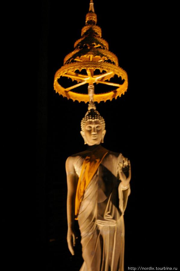 Будда в ночи.