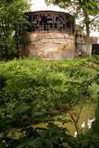 Башня замка и крепостной ров в Гурьевске