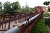 Мост через реку Писса в Гусеве