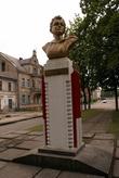 Памятник Зое Космодемьянской в Гусеве