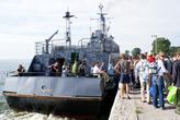 Паром в Балтийск на парад