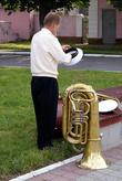 Трубач при параде