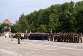 На площади Балтийской славы в Балтийске