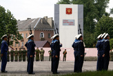 Моряки на площади Балтийской славы