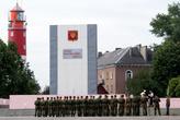 Маяк и площадь Балтийской славы в Балтийске