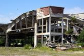 Руины аэродромного ангара на Балтийской косе