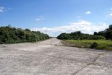 Старый заброшенный военный аэродром на Балтийской косе