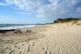 Пляж на Балтийской косе