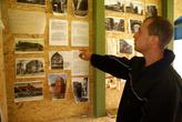 В самодельном частном музее замка Бальга