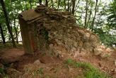 Руины в лесу у замка Бальга