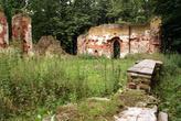 Руины кирхи у замка Бальга