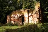 Стена разрушенной кирхи
