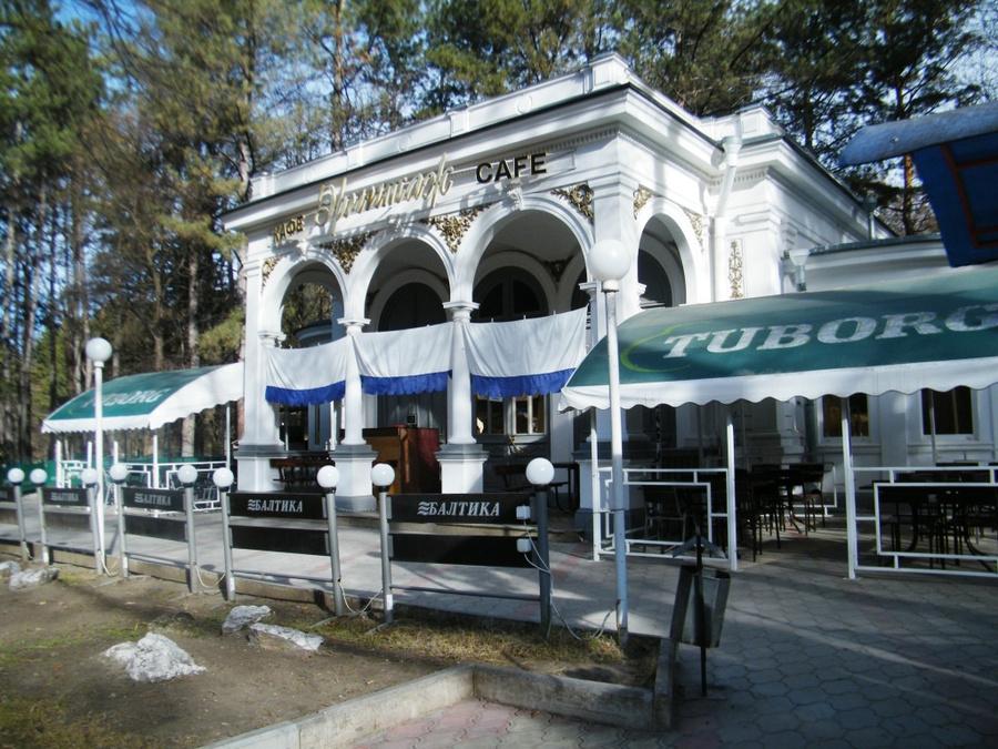 Кафе Эрмитаж в парке