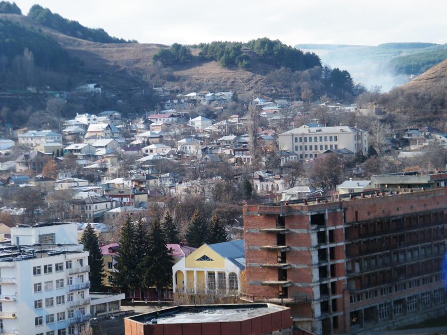 Вид на пригород Кисловодска
