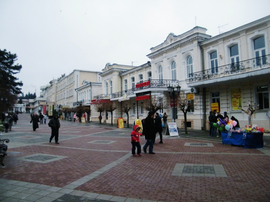 Старая улица Кисловодска