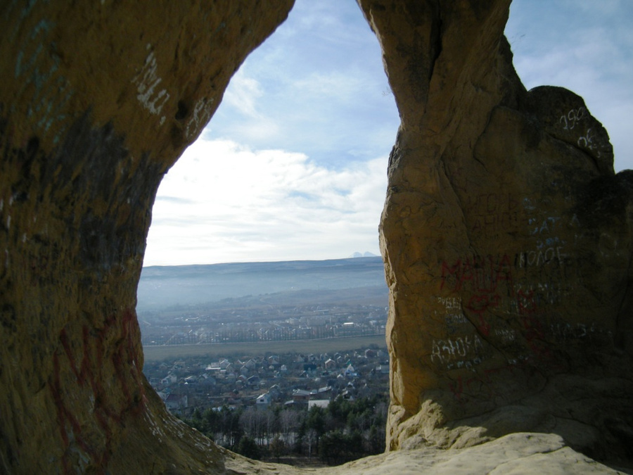 Гора кольцо изнутри