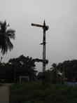 Последний выездной семафор, чудом простоял всю тамильскую войну