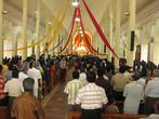 На службе в католическом соборе