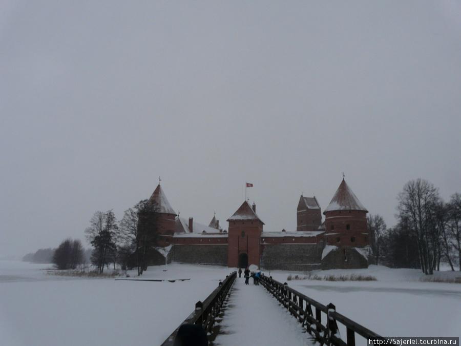 Бывшая столица Литвы на острове