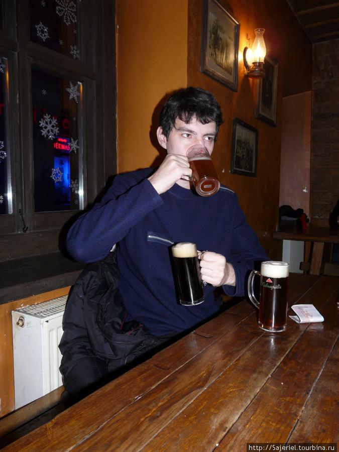 Литовское пиво — вкуснее немецкого! Пивоварня  Busi Trecias в Вильнюсе