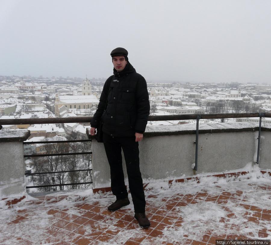 Вильнюс, вид сверху