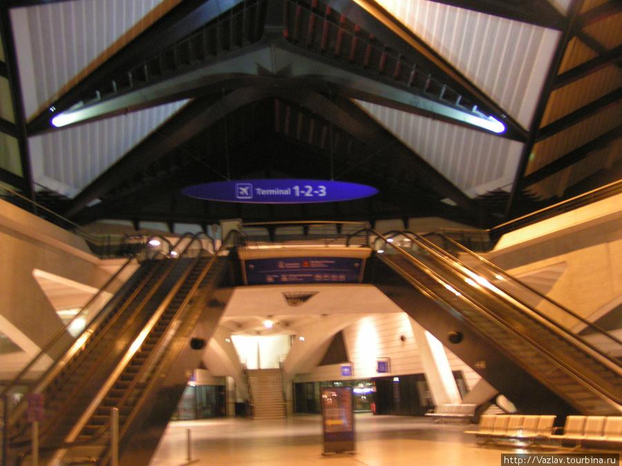 Вход в терминалы