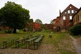 На территории замка Инстербург