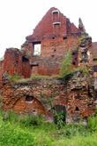 Стена замка Инстербург в Черняховске