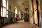 Внутри дома на территории замка Инстербург в Черняховске