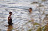 купание, Меконг