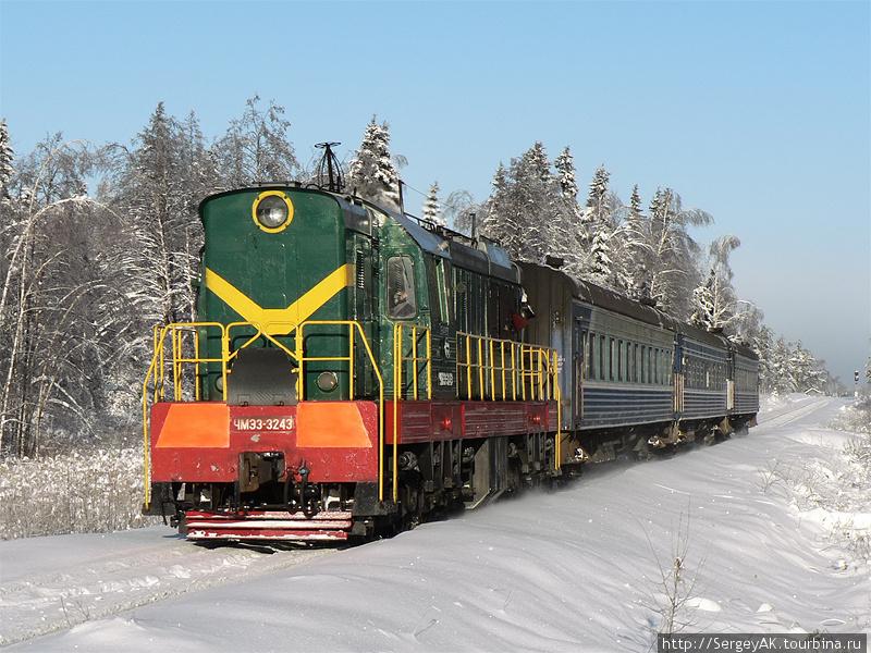 Пригородный поезд Владими