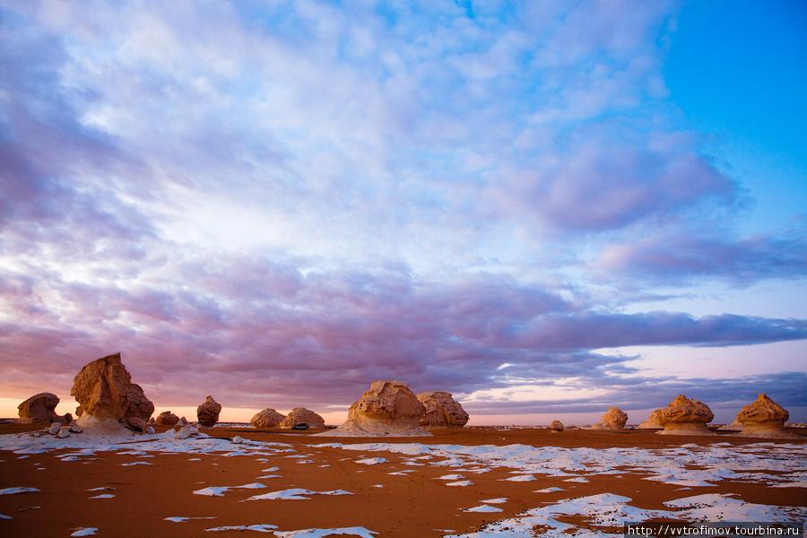 В Белой пустыне Египет