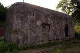 Бетонный бункер у форта №5