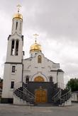 Колокольня церкви Тихона Задонского в Полесске