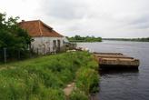 Река Дейма в Полесске