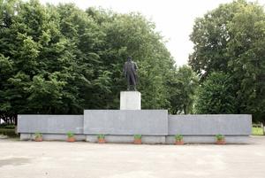 Памятник Ленину в Полесске