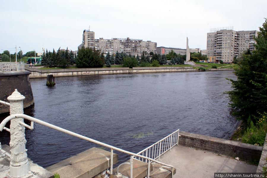 Река Преголя в Калининграде Калининград, Россия