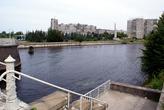 Река Преголя в Калининграде