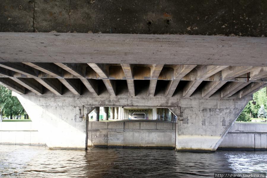 Под мостом Калининград, Россия