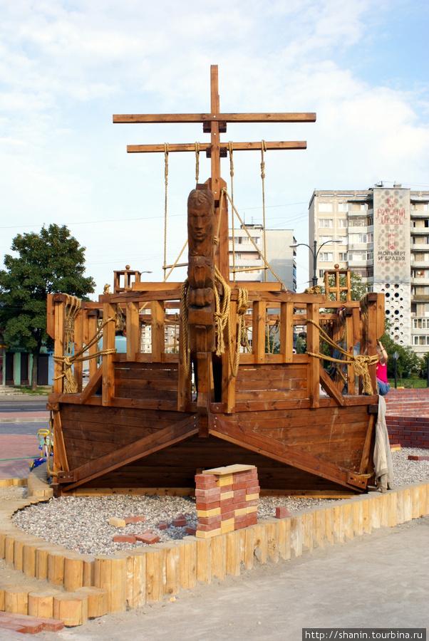 Макет парусника Калининград, Россия