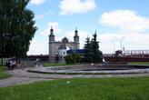 У моста королевы Луизы в Советске